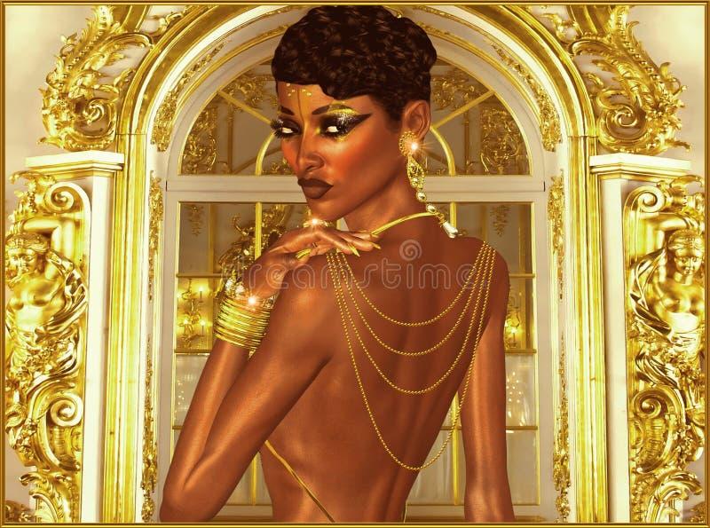 Uma noite do luxo. ilustração royalty free