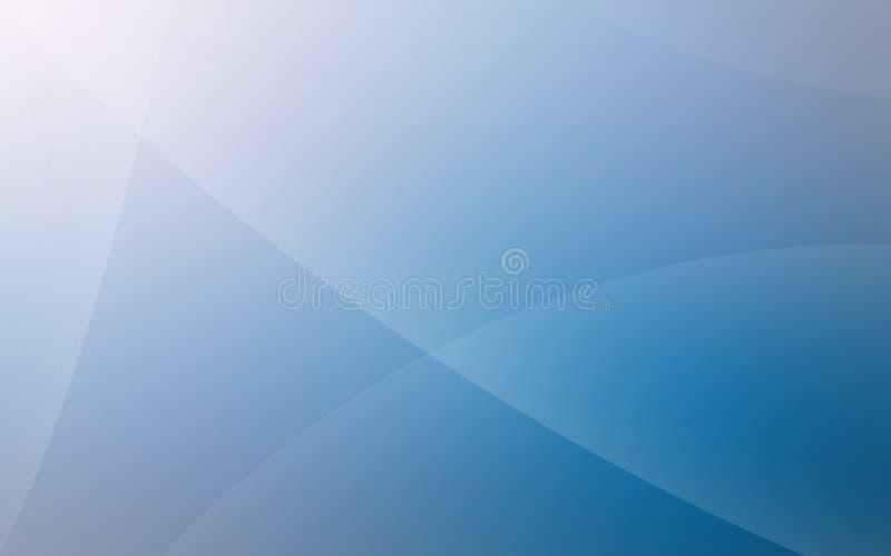 Uma obscuridade para iluminar - o fundo liso incomum azul com raios de luz suteis imagens de stock