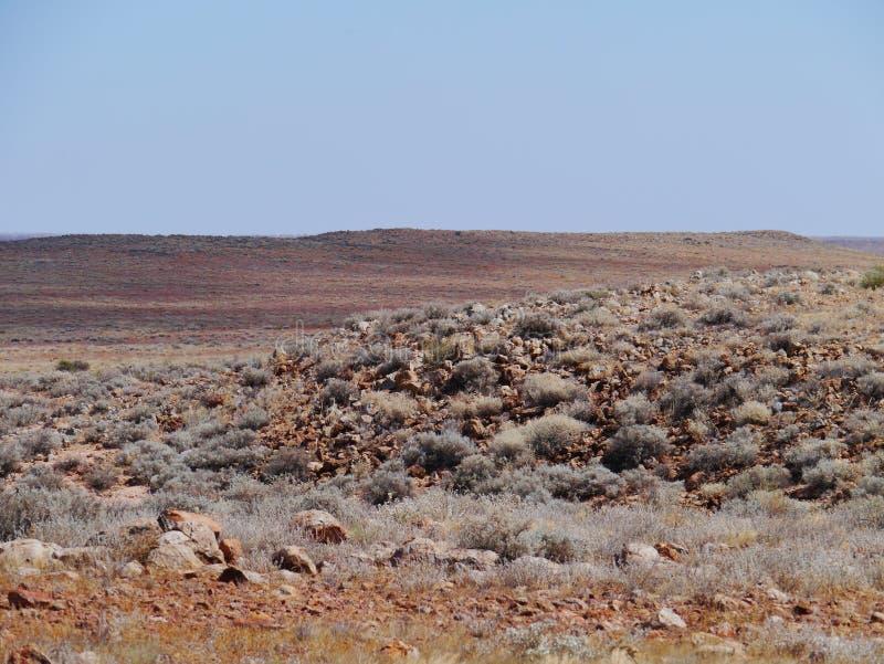 Uma paisagem australiana sul foto de stock royalty free
