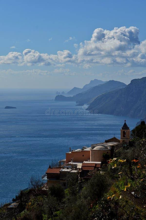 Uma paisagem no mar imagem de stock royalty free