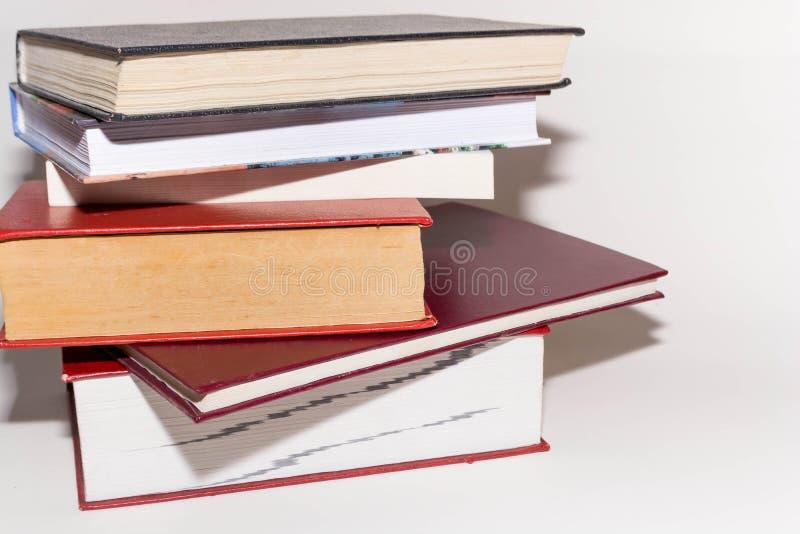 Uma pilha dos livros foto de stock