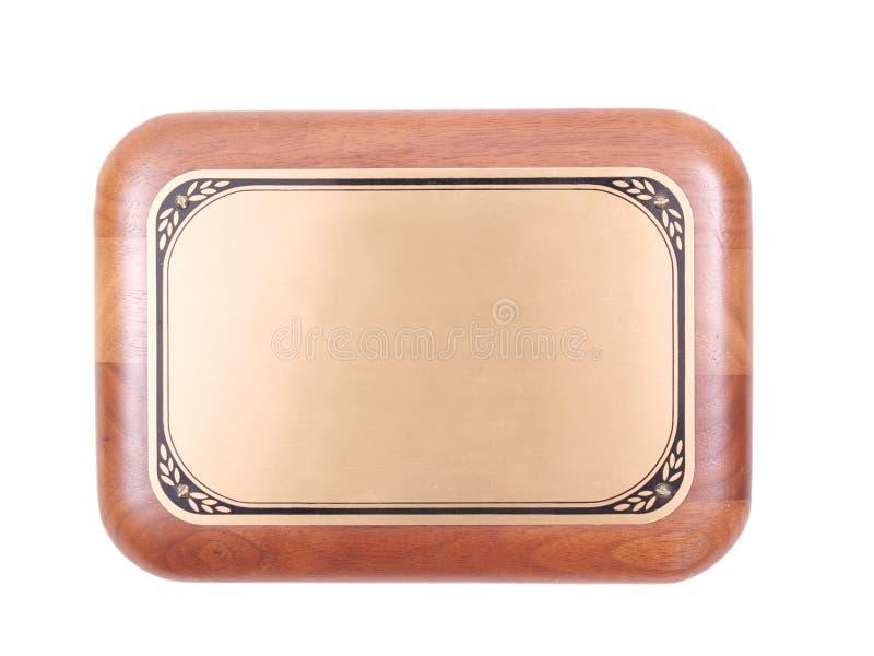 Uma placa concede a chapa imagem de stock