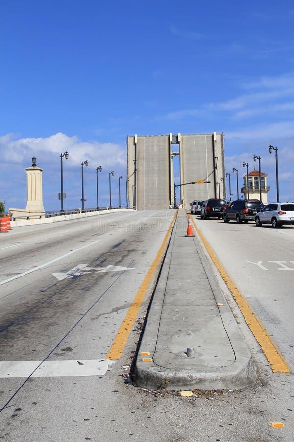 Ponte de tração em West Palm Beach fotos de stock