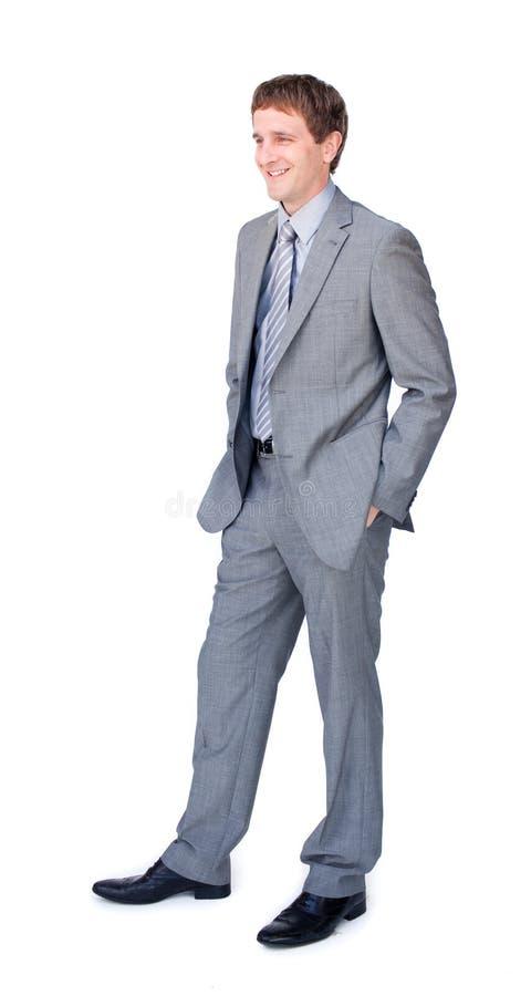 Uma posição do homem foto de stock royalty free