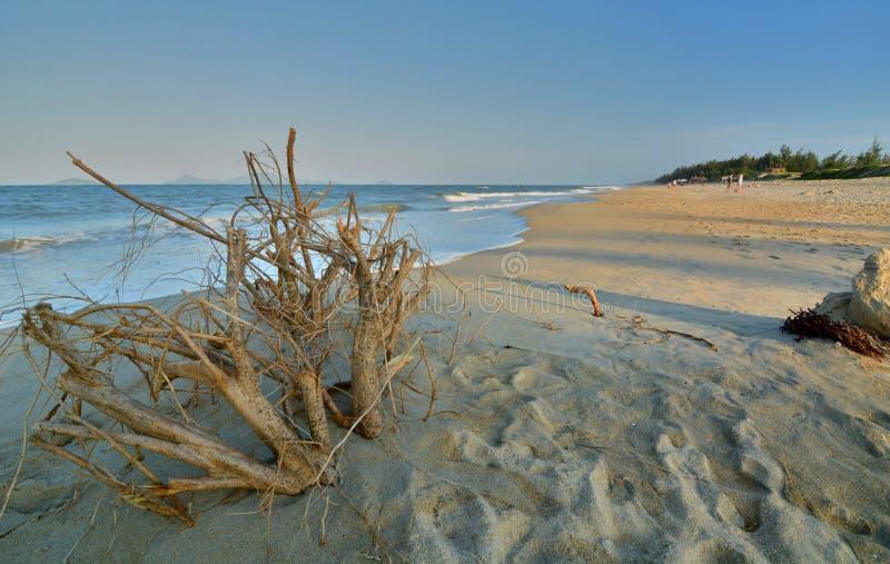 Uma praia do golpe Ponto do interst em Vietnam vietnam fotos de stock