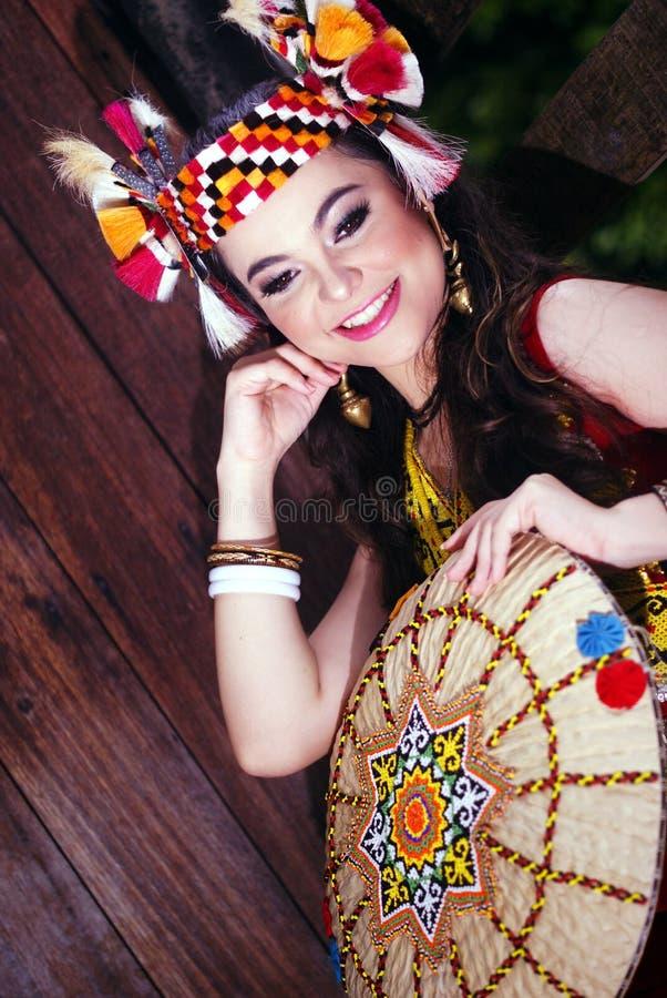 Uma princesa do orangulu imagens de stock