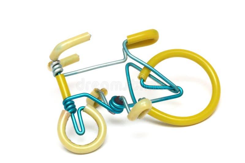 Uma réplica feito a mão de uma bicicleta fotos de stock royalty free