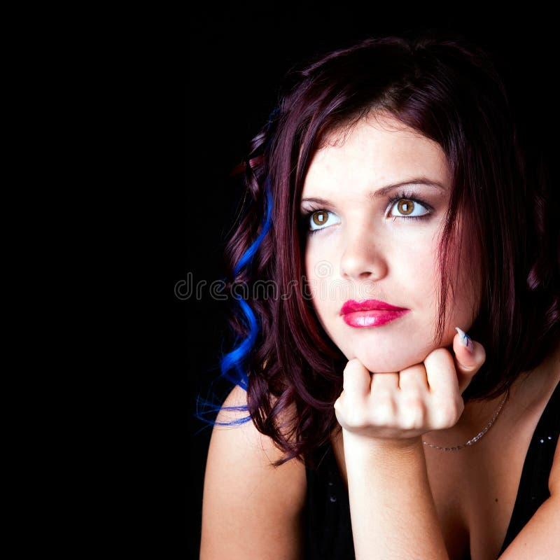 Uma rapariga bonita fotos de stock