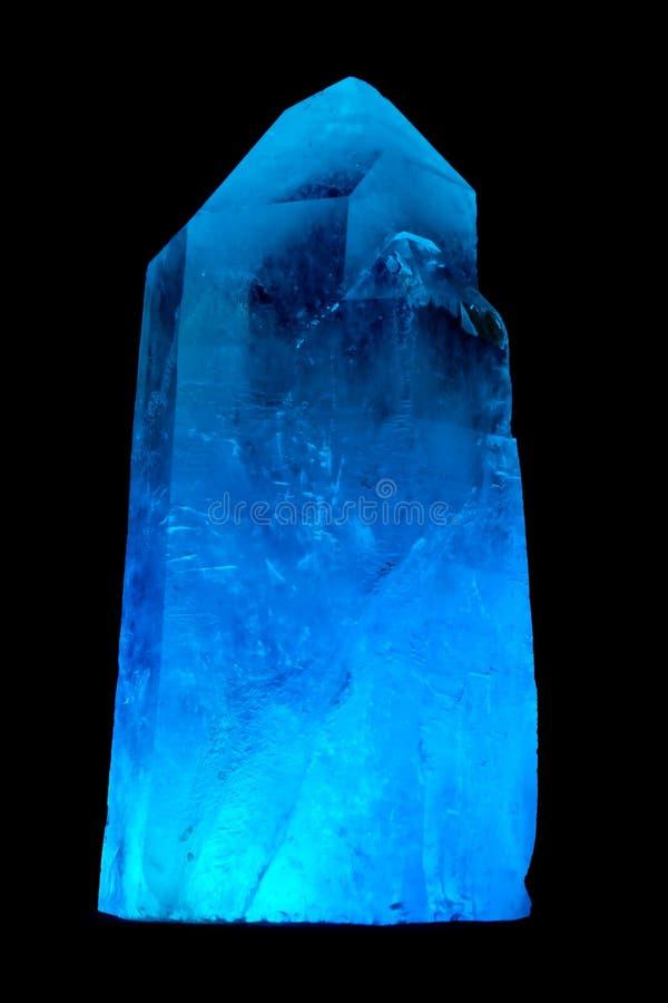 Uma rocha de cristal. imagem de stock royalty free
