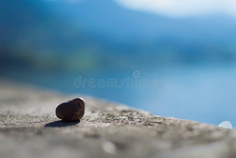 Uma rocha simples imagens de stock royalty free