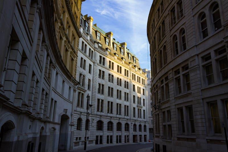 Uma rua abandonada de Londres imagem de stock royalty free
