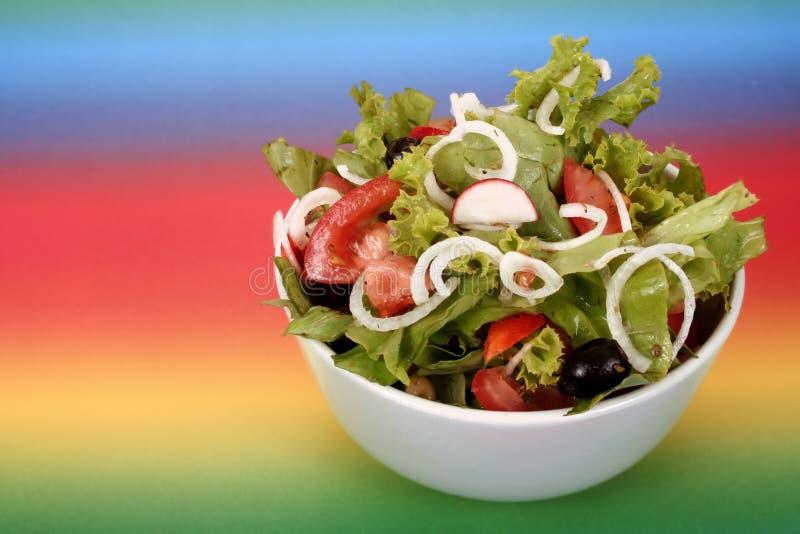 Uma salada fresca foto de stock