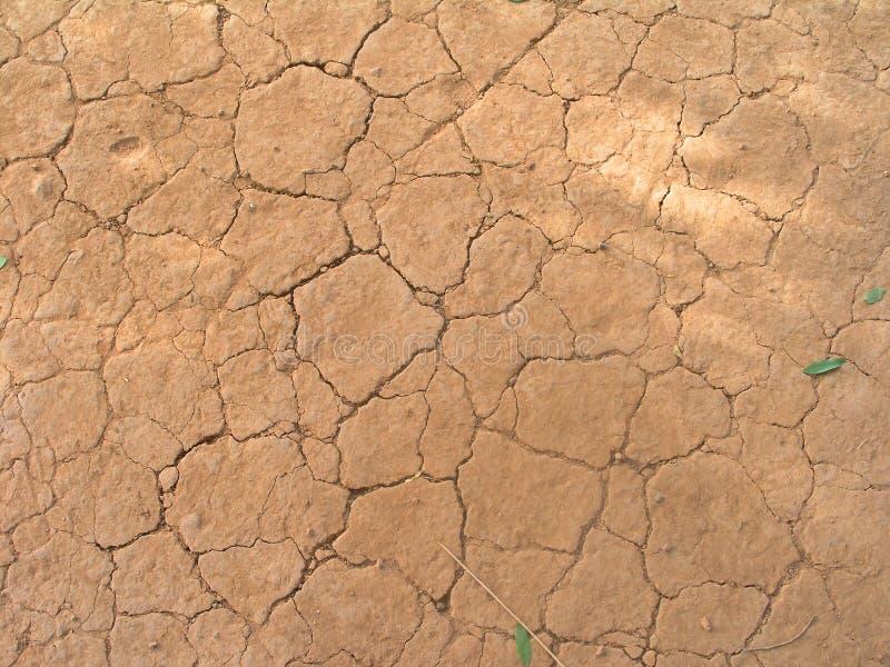 Uma terra seca imagens de stock royalty free