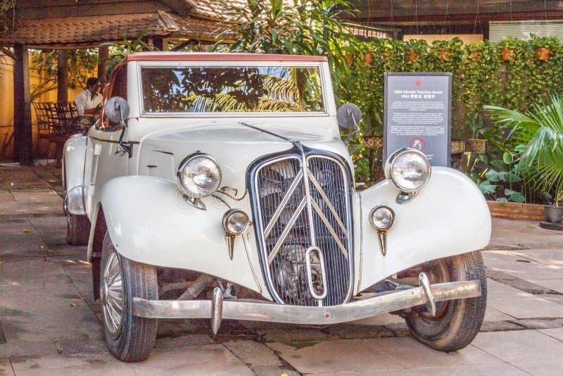 Uma tração 1934 de Citroen Avant imagens de stock royalty free