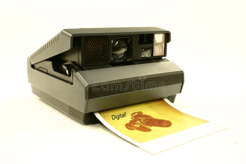 Uma vez que esta era a câmera você teve que ter. Não é mais. fotos de stock royalty free