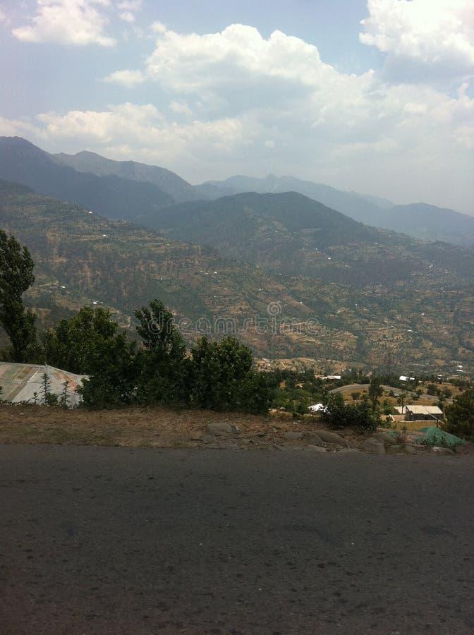Uma viagem por estrada ao vale de Leh fotos de stock