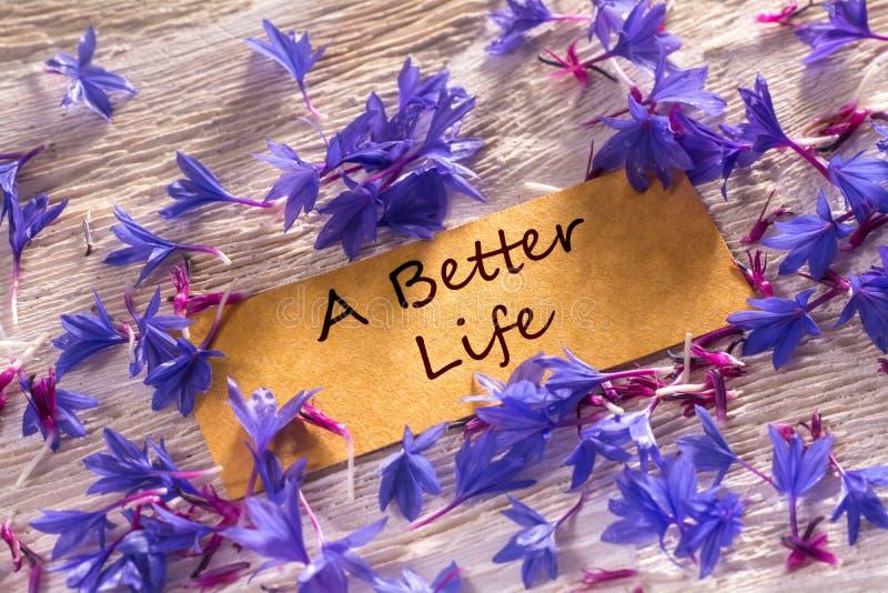Uma vida melhor imagem de stock