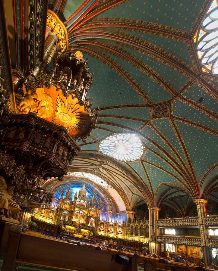 Download O Basillica De Notre Dame Em Montreal Foto Editorial - Imagem de parish, chapel: 29838191
