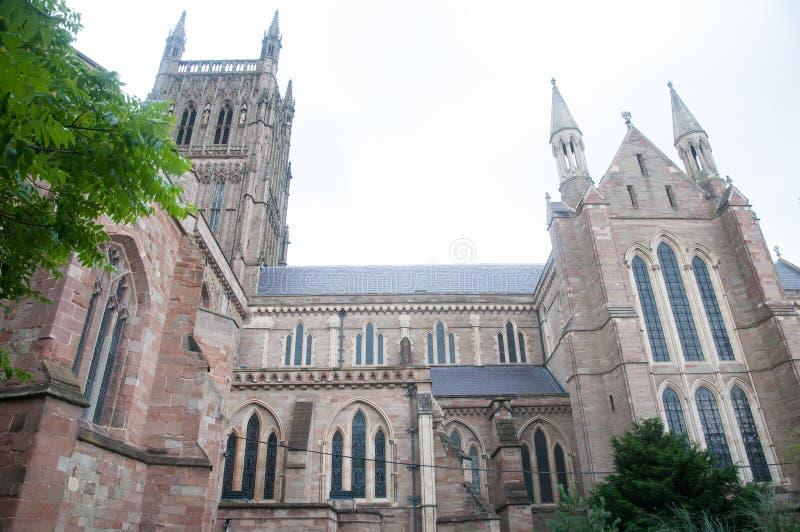 Uma vista da catedral fotos de stock royalty free