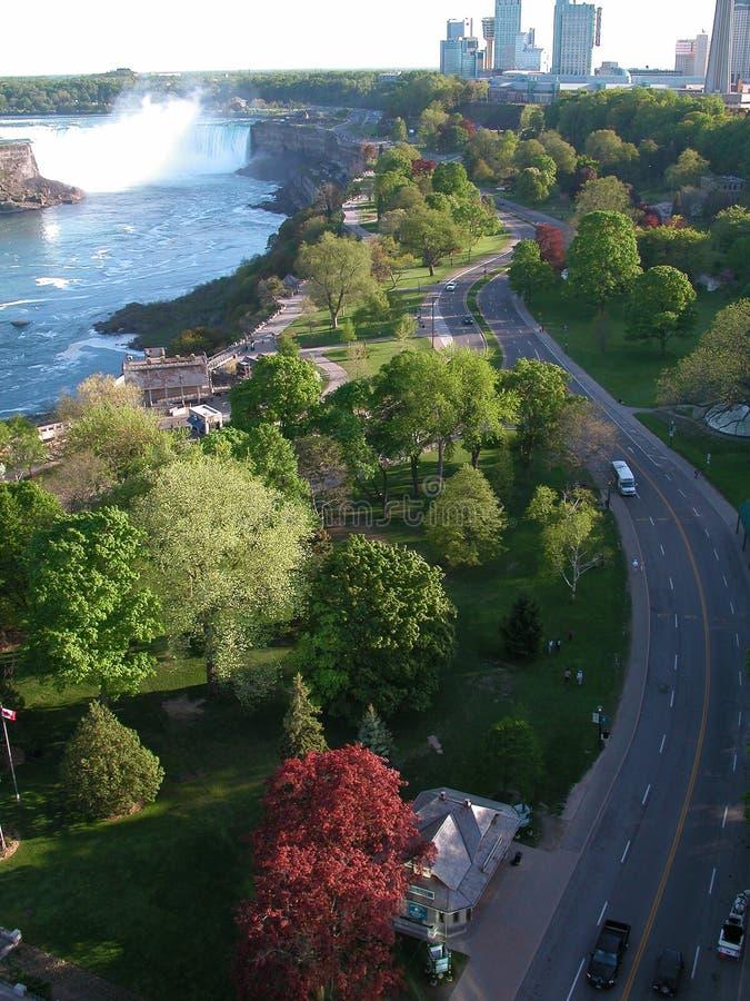 Uma vista de Niagara imagem de stock royalty free
