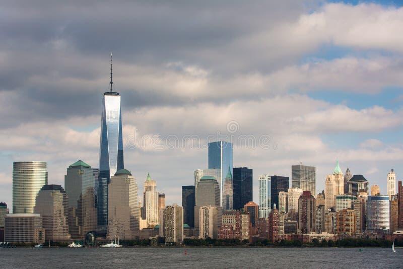 Uma vista do Lower Manhattan fotos de stock