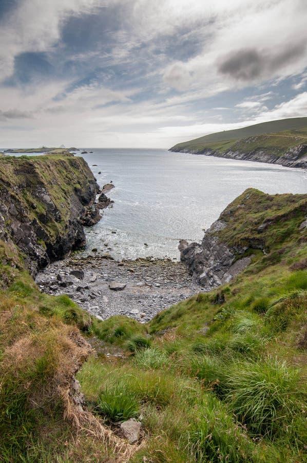 Uma vista do oceano fotografia de stock royalty free