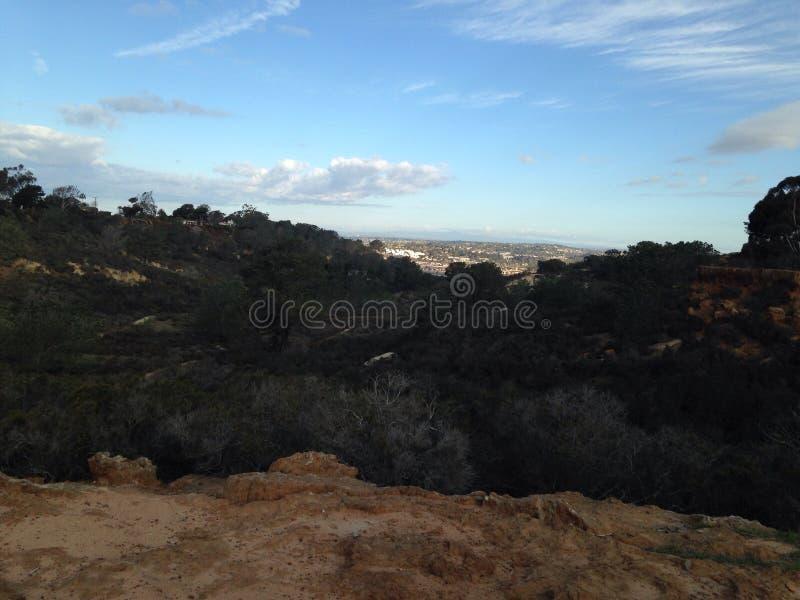 Uma vista pequena de Califórnia imagem de stock royalty free
