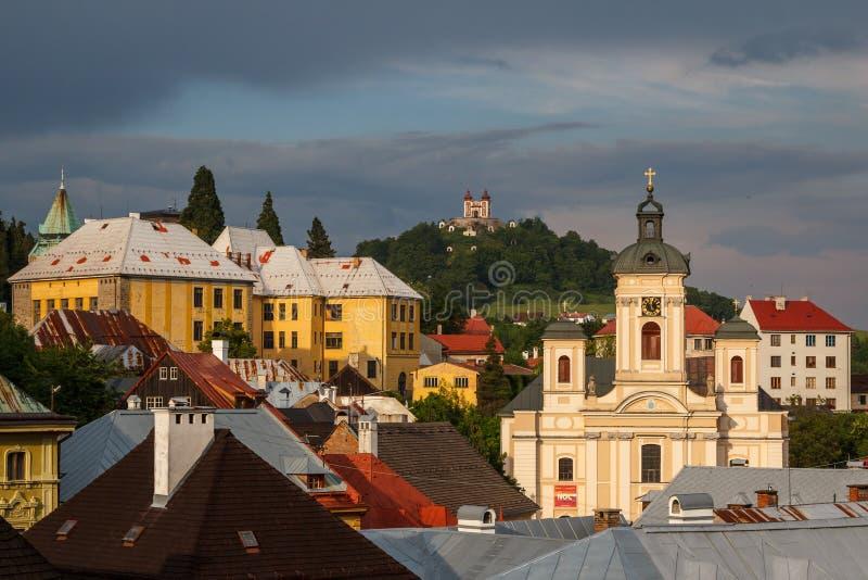 Uma vista sobre telhados foto de stock royalty free