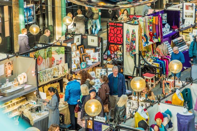 Uma vista típica em Covent Garden fotos de stock royalty free