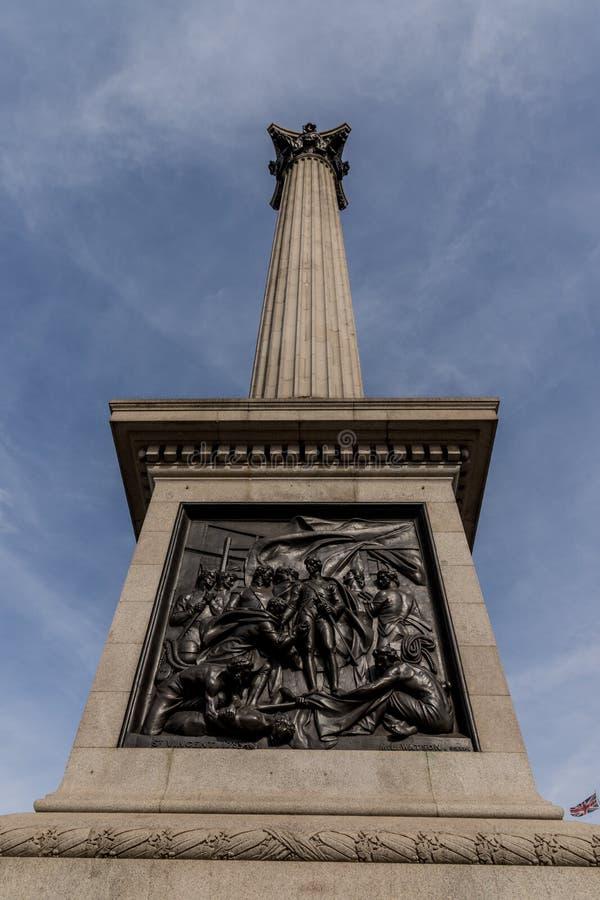 Uma vista típica em Londres imagem de stock