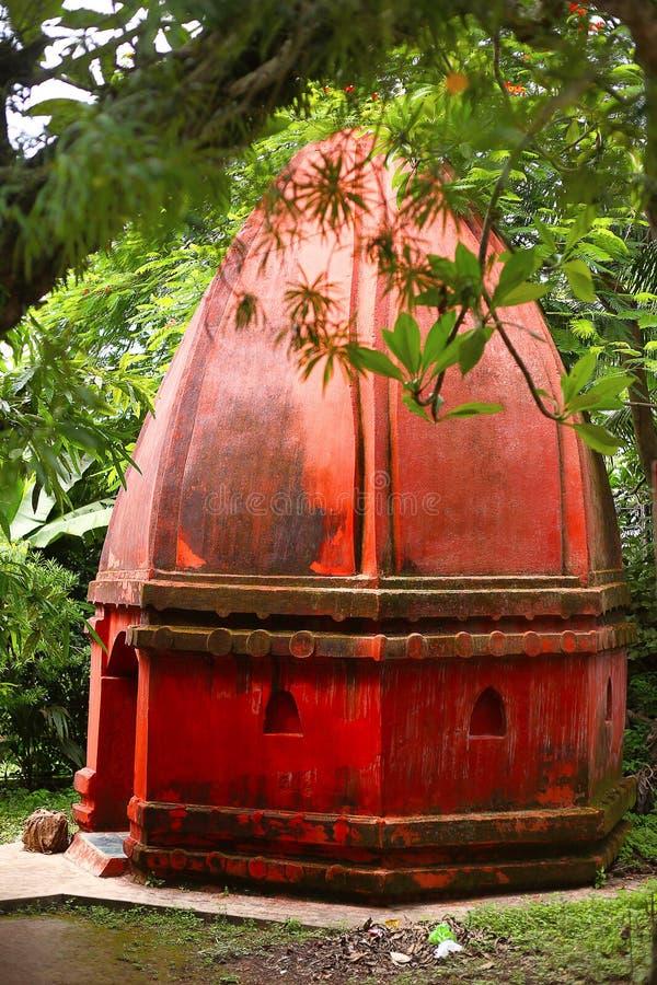 Umananda Shiva Temple, Guwahati, Assam Île de paon au milieu de rivière Brahmaputra photos libres de droits