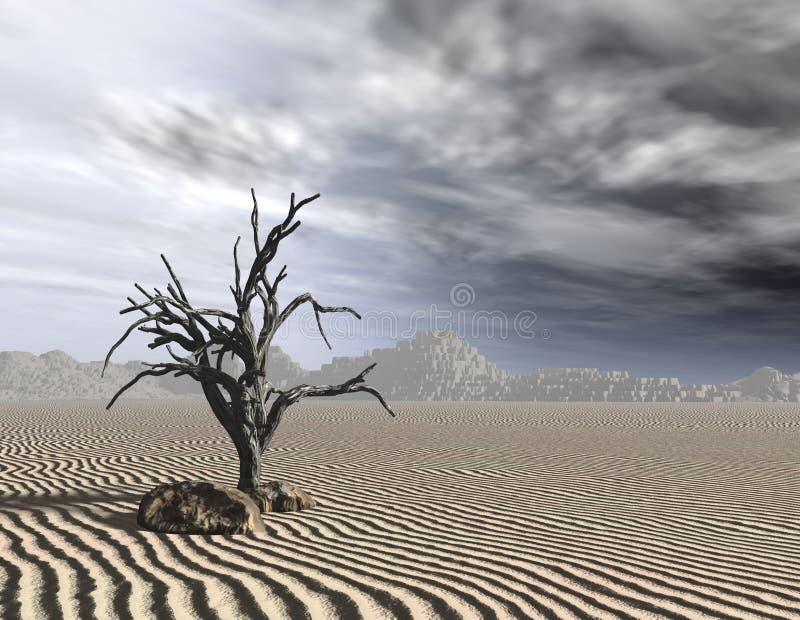 umarłe drzewo ilustracji
