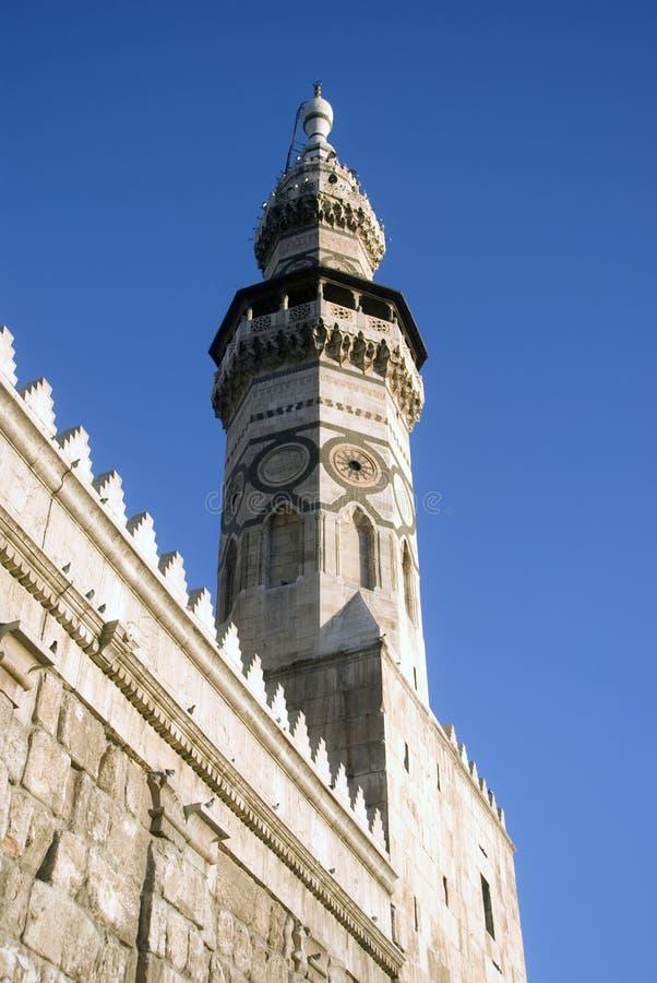 umayyad Швеции мечети damascus стоковое фото