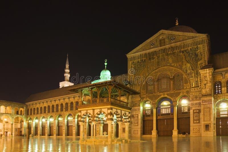 umayyad Швеции мечети damascus стоковые изображения rf