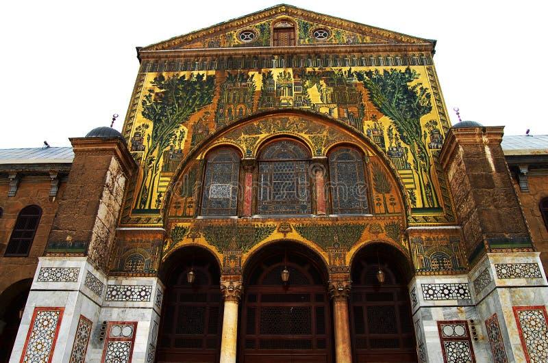 Umayyad meczet - Syria obraz royalty free