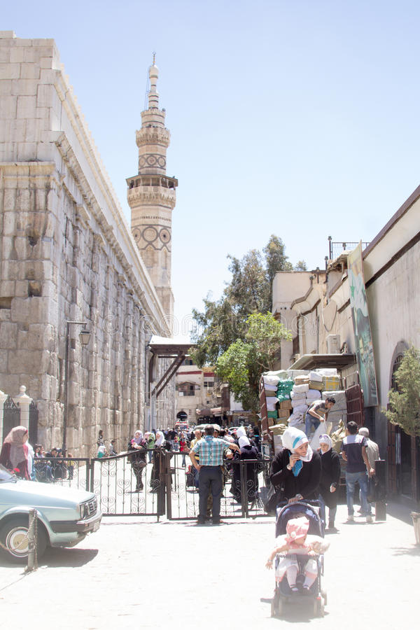 Umayyad-Moschee lizenzfreie stockbilder
