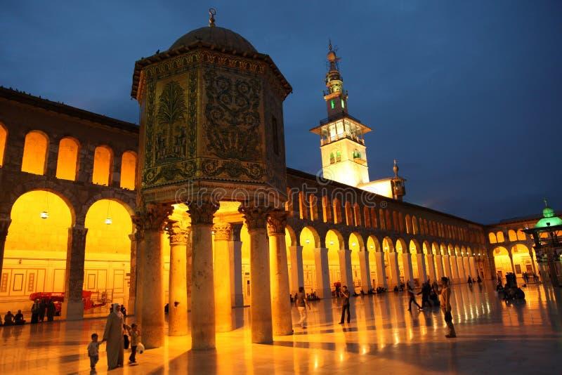 The Umayyad Mosque in Damascus stock photo
