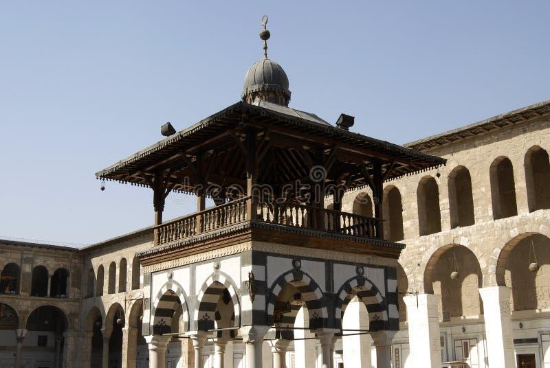 Umayyad Mosque in Damascus royalty free stock photography