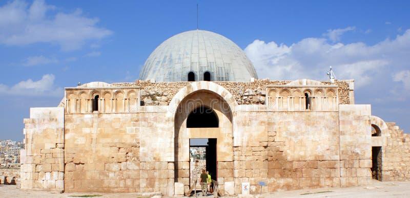 Umayyad pałac fotografia stock
