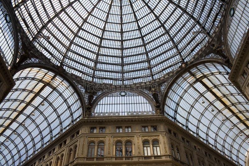 Umberto gallery in Naples royalty free stock photo