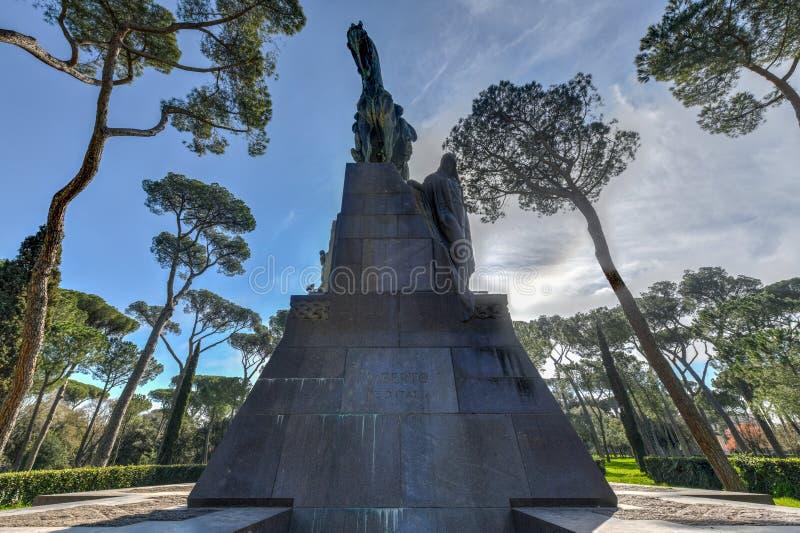 Umberto I - Rom, Italien stockfotografie
