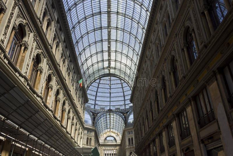 Umberto Ja galeria architektoniczny szczegół zdjęcie royalty free
