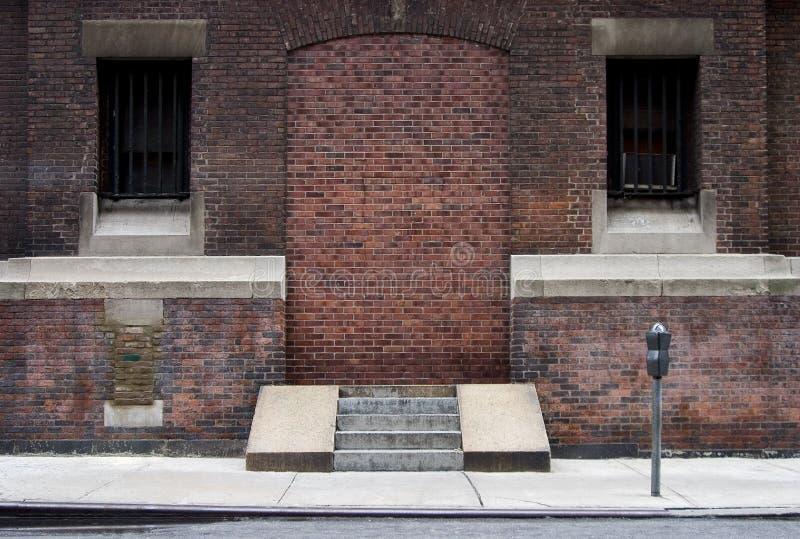 Umbral de Bricked-up fotos de archivo