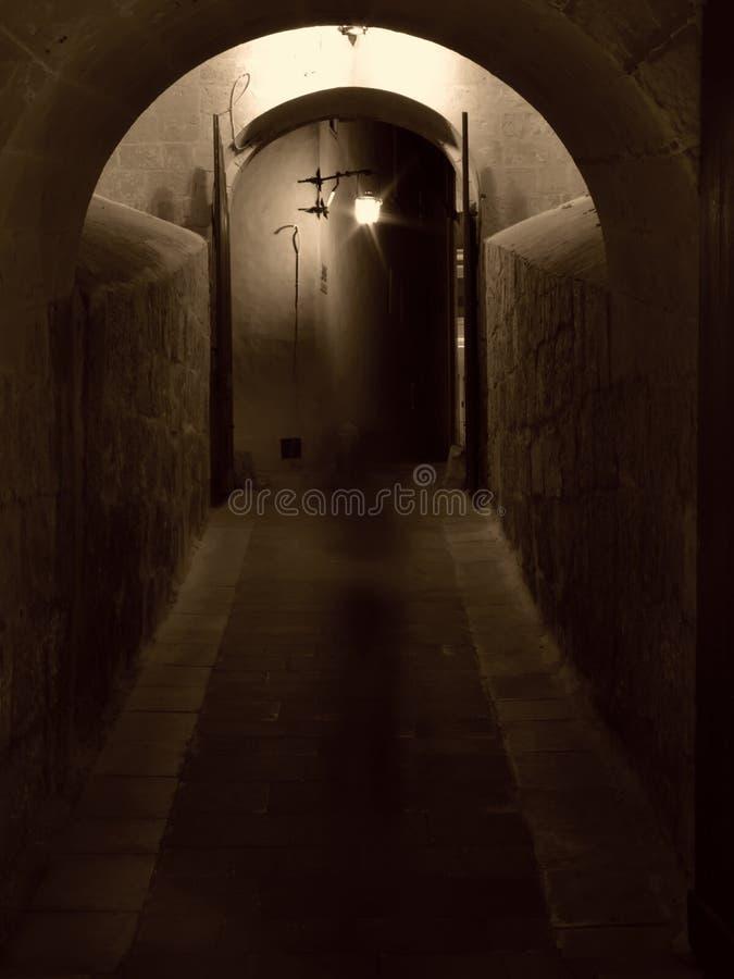 Umbral del castillo del fantasma imágenes de archivo libres de regalías