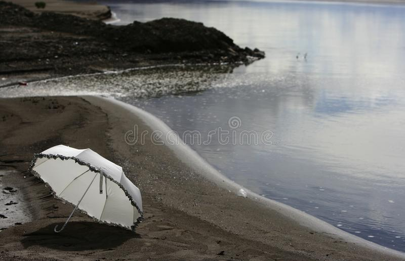 Download Umbrella stock image. Image of white, umbrella, sand - 11811025