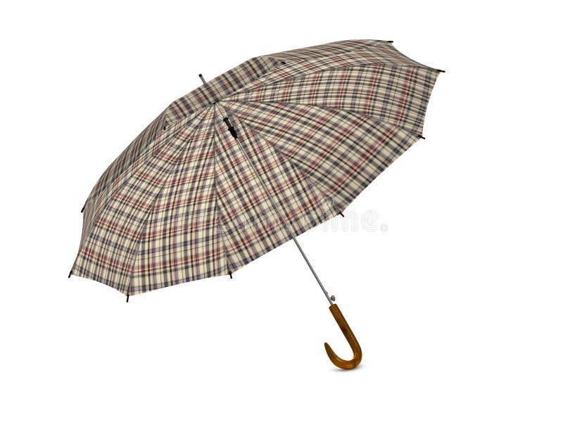 Download Umbrella stock illustration. Illustration of handle, white - 15830952