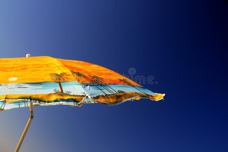 Download Umbrella stock image. Image of cloudless, blue, clear - 17942887