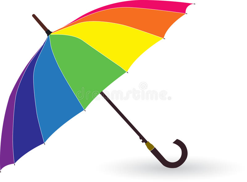 Download Umbrella stock vector. Image of safety, rainy, blue, protect - 19207473