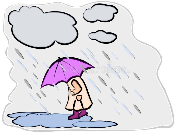 Download Umbrella stock illustration. Image of dogs, liquid, nature - 25366034