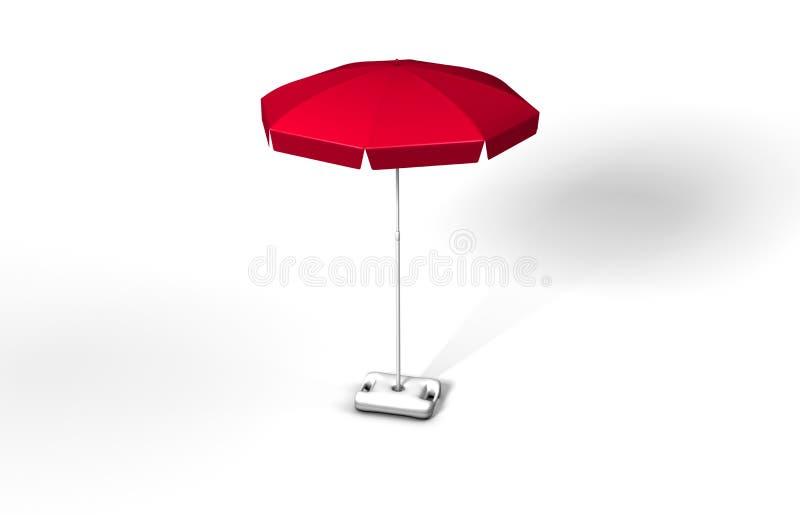 Download Umbrella stock illustration. Illustration of mediterranean - 4318520
